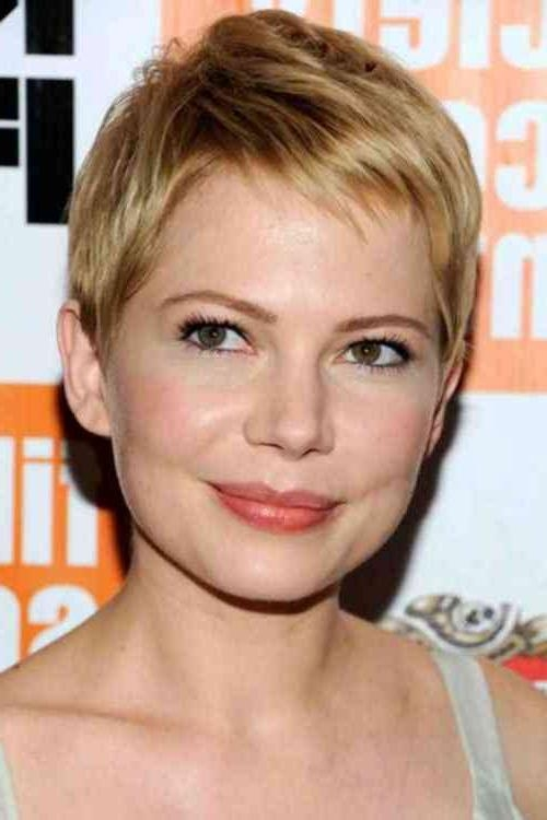 Simple Stylish Haircut Throughout Well Known Short Pixie Haircuts For Straight Hair (View 19 of 20)