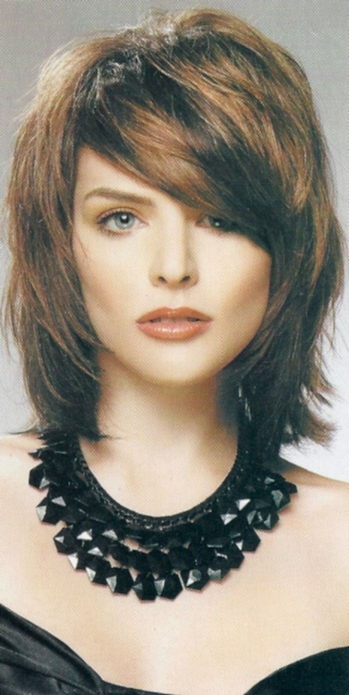 Tag: Medium Length Shaggy Hairstyles With Bangs – Hairstyle Throughout Well Liked Medium Shaggy Haircuts With Bangs (View 5 of 15)