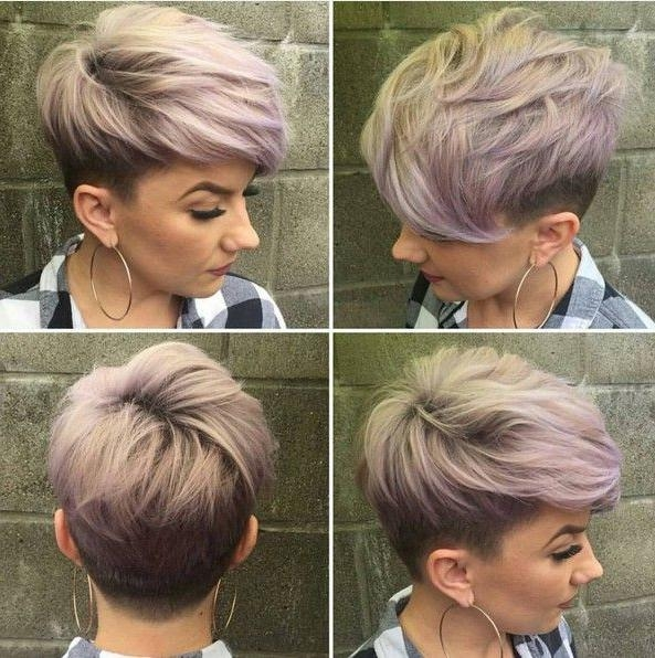 Textured Pixie Haircuts With Fine Hair – Undercut For Short Hair With Regard To Current Undercut Pixie Haircuts (View 16 of 20)