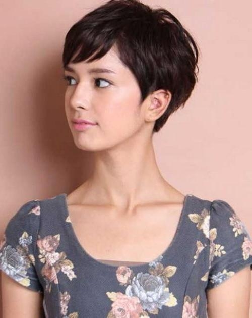 The 25+ Best Asian Pixie Cut Ideas On Pinterest (View 8 of 20)