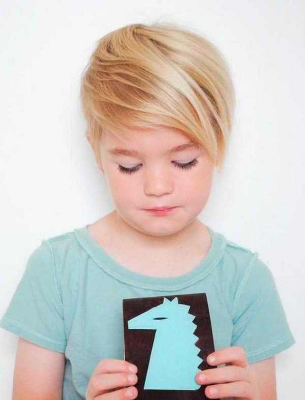The 25+ Best Little Girls Pixie Haircuts Ideas On Pinterest In Widely Used Little Girl Pixie Haircuts (View 15 of 20)