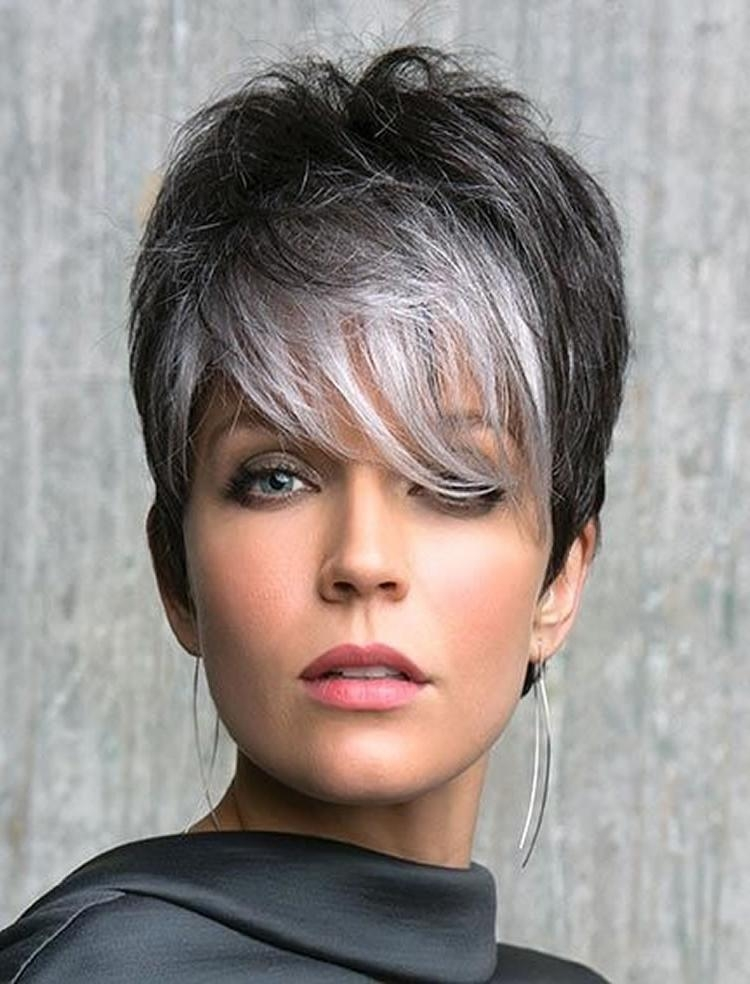The 32 Coolest Gray Hairstyles For Every Lenght And Age (View 15 of 20)