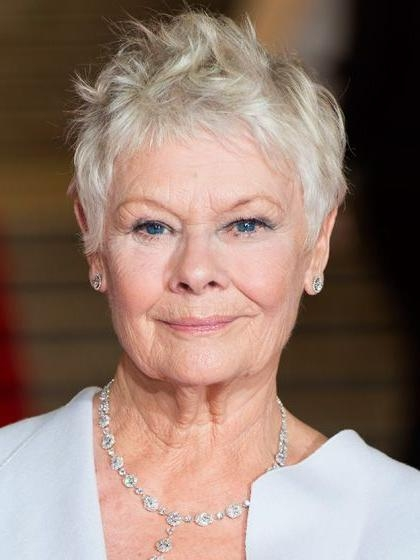 The 5 Most Flattering Haircuts For Women In Their 70S—And Beyond Intended For Famous Judi Dench Pixie Haircuts (View 18 of 20)