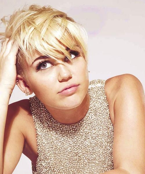 The Best Miley Cyrus Pixie Hair Cuts – Hair World Magazine For Most Popular Miley Cyrus Pixie Haircuts (View 18 of 20)