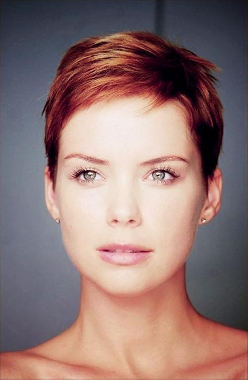 The Best Short Hairstyles For Women 2017 –  (View 18 of 20)