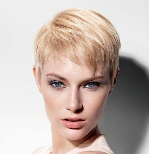 Photo Gallery of Cute Short Pixie Haircuts (Viewing 13 of ...