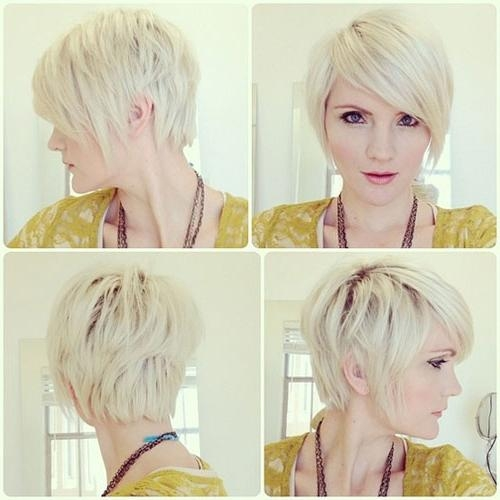 The Best Short Hairstyles For Women 2017 – 2018 Pertaining To Current Pixie Haircuts Front And Back (View 20 of 20)
