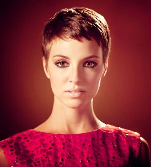 The Best Short Hairstyles For Women 2017 – 2018 With Trendy Super Short Pixie Haircuts (View 10 of 20)