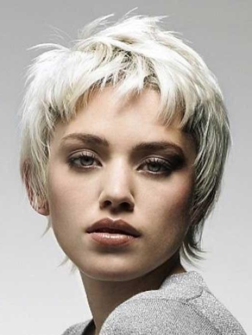 The Best Short Hairstyles For Women With Fashionable Shaggy Pixie Haircuts (View 6 of 20)