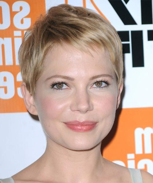 The Perfect Pixie Haircut For Your Face Shape In Most Recent Pixie Haircuts For Heart Shaped Face (View 7 of 20)
