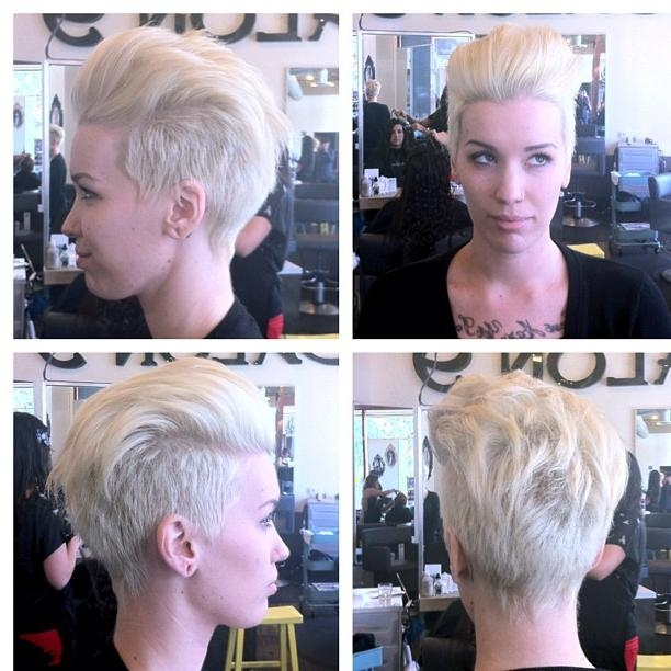 The Pixie Revolution: Pixie Cuts, Buzzed Napes, Sidebuzz Pics Oct 2Nd In 2018 Buzzed Pixie Haircuts (View 17 of 20)