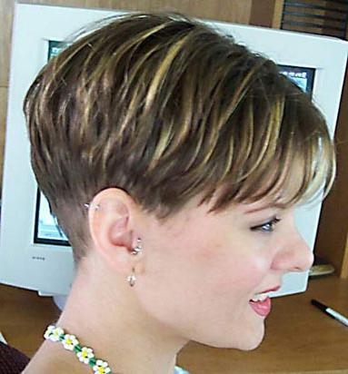 The Pixie Revolution: Pixie Cuts, Buzzed Napes, Sidebuzz Pics Oct 2Nd In Best And Newest Buzzed Pixie Haircuts (View 18 of 20)
