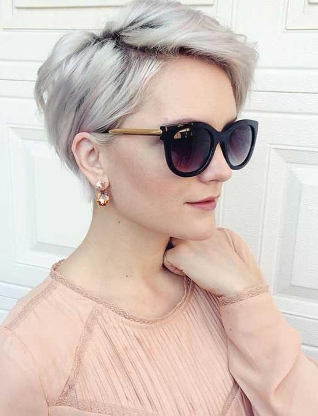 Top 15 Perfect Summer Hairstyles That Will Make You Look Hot Inside Trendy Sexy Pixie Haircuts (View 18 of 20)