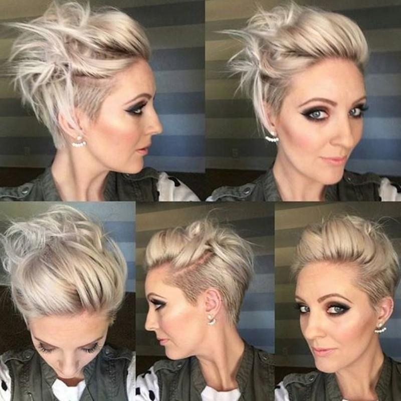 Top 25 Edgy Pixie Undercut Ideas To Try Right Now! Pertaining To 2017 Pixie Haircuts With Long On Top (View 20 of 20)