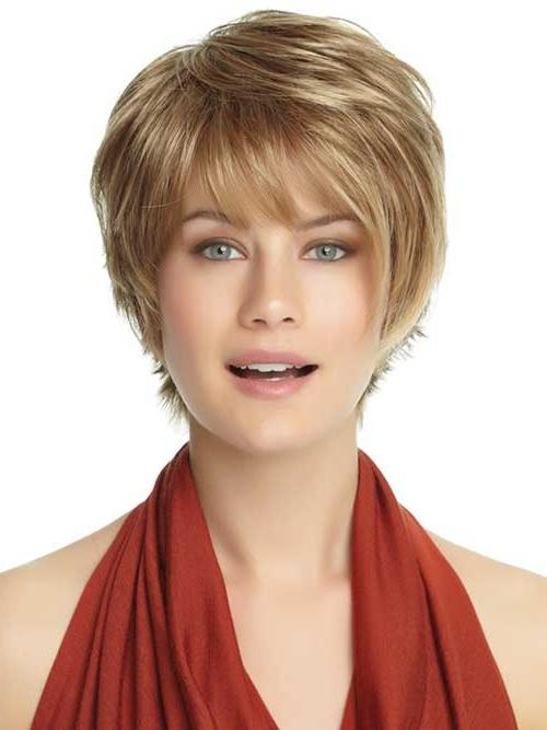 Trendy Bang Haircuts For Round Face – Hairzstyle : Hairzstyle Inside Best And Newest Long Pixie Haircuts For Round Faces (View 18 of 20)