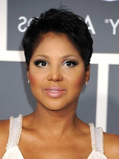 Trendy Black Women Short Pixie Haircuts In 20 Short Pixie Haircuts For Black Women Short Hairstyles (View 15 of 20)