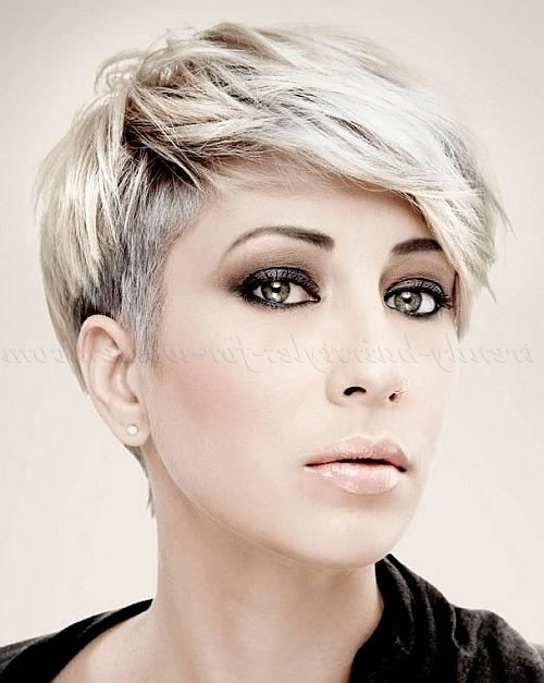 Trendy Hairstyles For Women In Well Liked Stylish Pixie Haircuts (View 18 of 20)