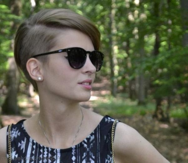 Trendy Hipster Pixie Haircuts Throughout 70 Adorable Short Undercut Hairstyle For Girls (View 16 of 20)