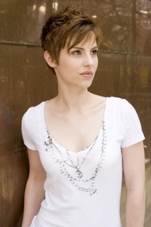 Trendy Hot Pixie Haircuts Pertaining To Hairstyles For Pixie Cuts (View 18 of 20)
