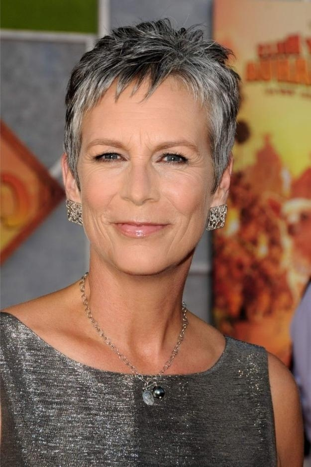 Trendy Jamie Lee Curtis Pixie Haircuts In The 17 Hottest Silver Foxes (View 15 of 20)
