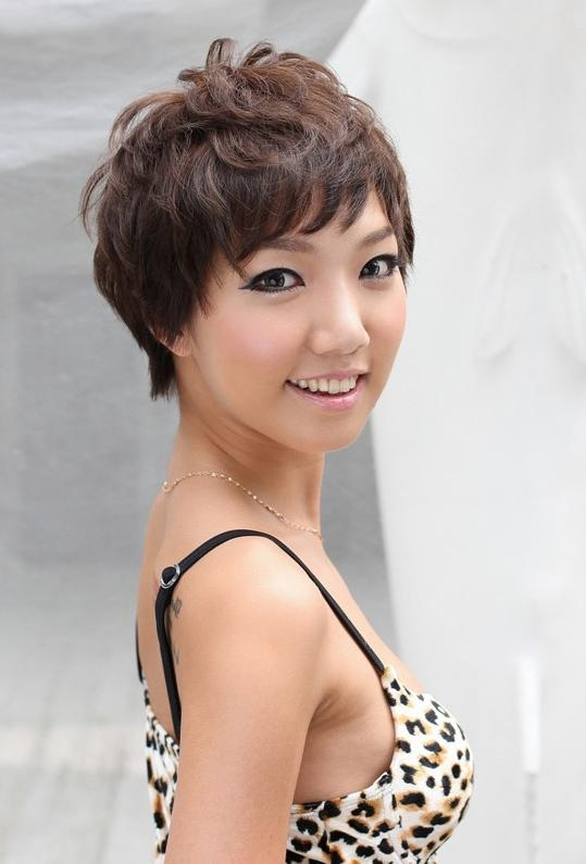 Trendy Japanese Pixie Haircuts With Regard To Pretty Pin Curl Pixie Cut – Hairstyles Weekly (View 18 of 20)