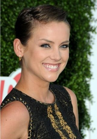 Trendy Jessica Stroup Pixie Haircuts With Regard To Stroup's Short Hairstyle (View 3 of 20)