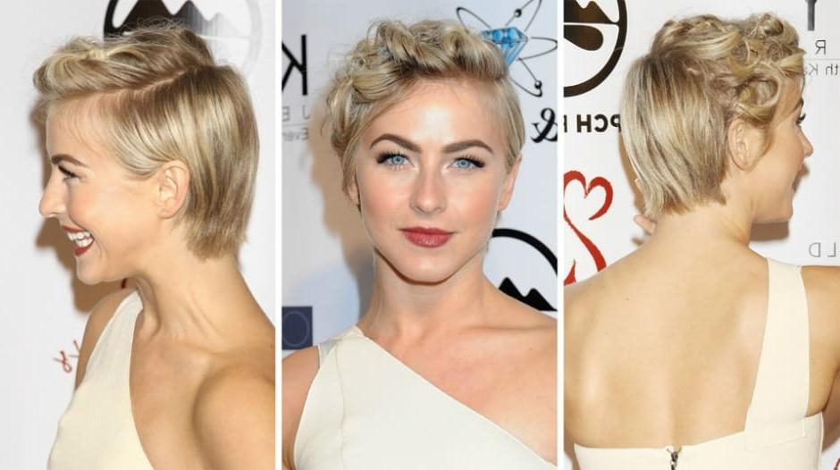 Photo Gallery Of Julianne Hough Pixie Haircuts Viewing 19 Of 20 Photos