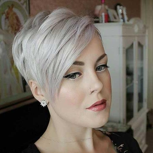 Trendy Pixie Cuts For Stylish Women (View 18 of 20)