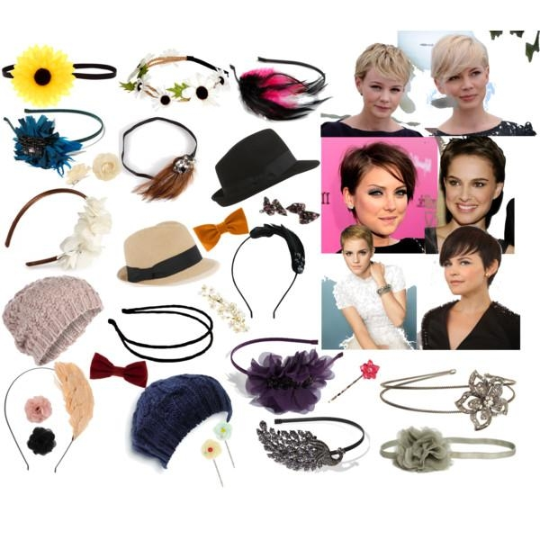 Trendy Pixie Haircuts Accessories In Pixie Cut Accessories – Polyvore (View 17 of 20)