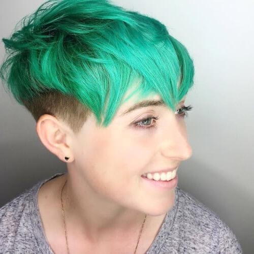 Trendy Pixie Haircuts For Thick Curly Hair In 28 Cutest Pixie Cut Ideas Trending For  (View 19 of 20)