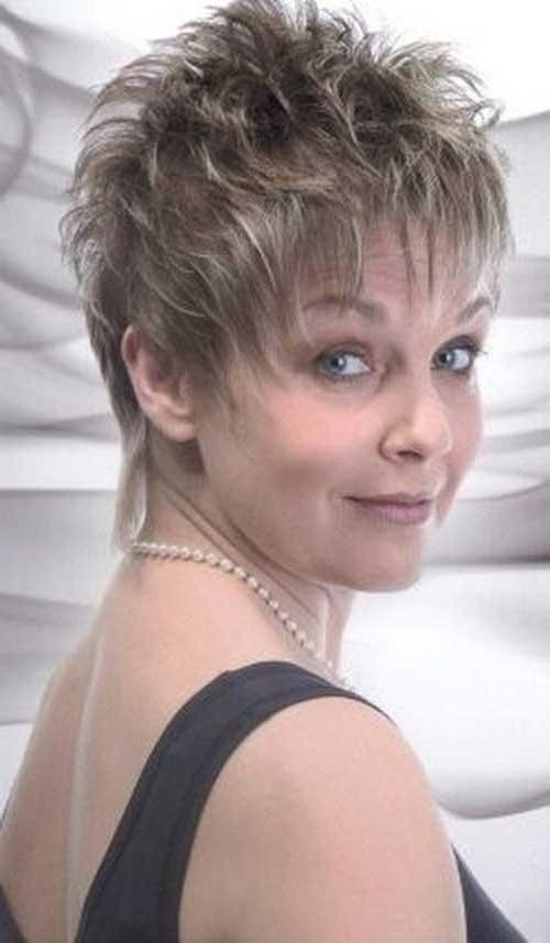 20 Inspirations Of Pixie Haircuts For Women Over 50