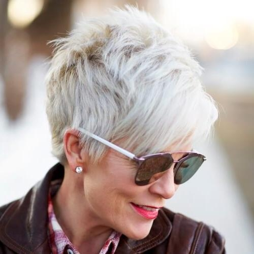 Trendy Pixie Haircuts For Women Over 60 Regarding 50 Timeless Hairstyles For Women Over (View 20 of 20)