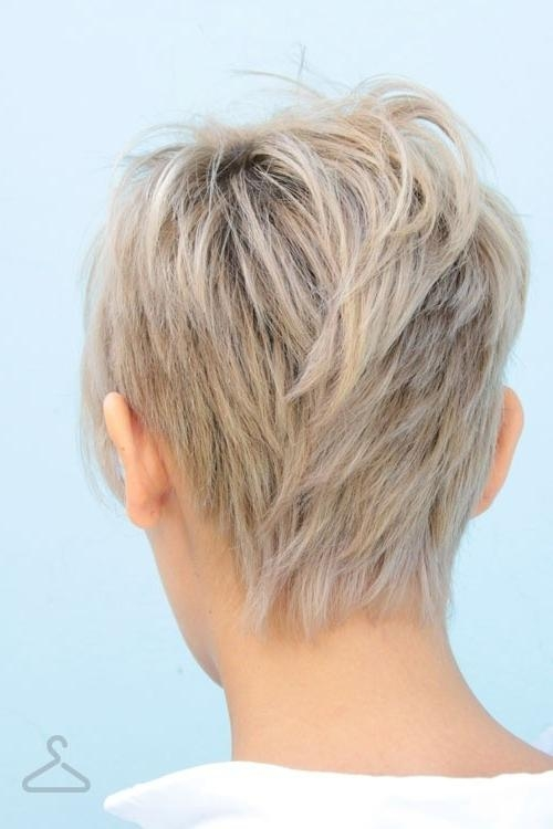 Trendy Short Feathered Pixie Haircuts Throughout 20 Layered Hairstyles For Short Hair – Popular Haircuts (View 18 of 20)