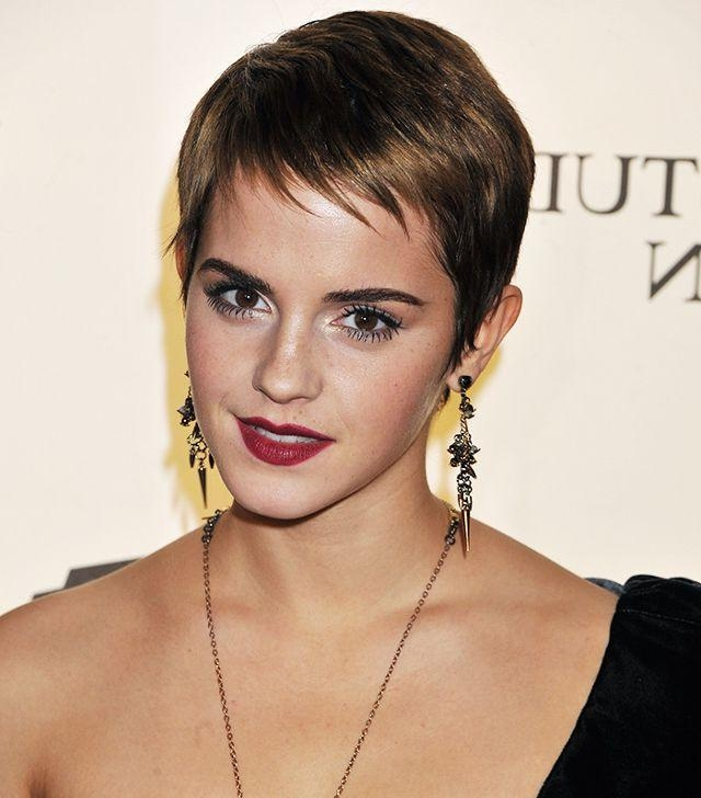 Trendy Styling Pixie Haircuts Intended For How To Style A Pixie Cut, According To Celebrities (View 16 of 20)