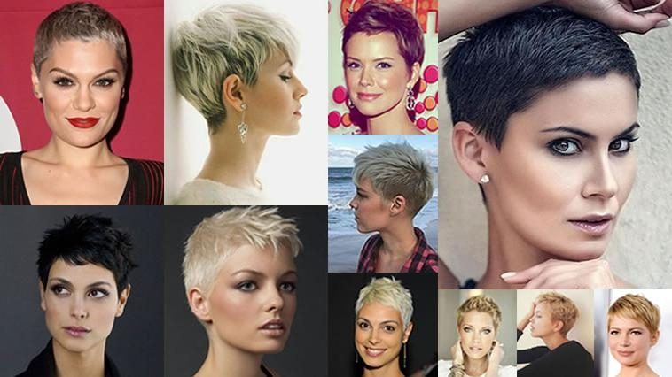 Photo Gallery Of Super Short Pixie Haircuts Viewing 7 Of 20 Photos