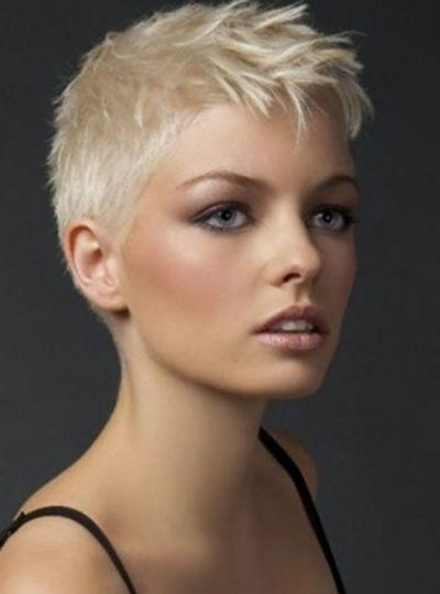 Trendy Super Short Pixie Haircuts Intended For Best 25+ Super Short Pixie Ideas On Pinterest (View 17 of 20)