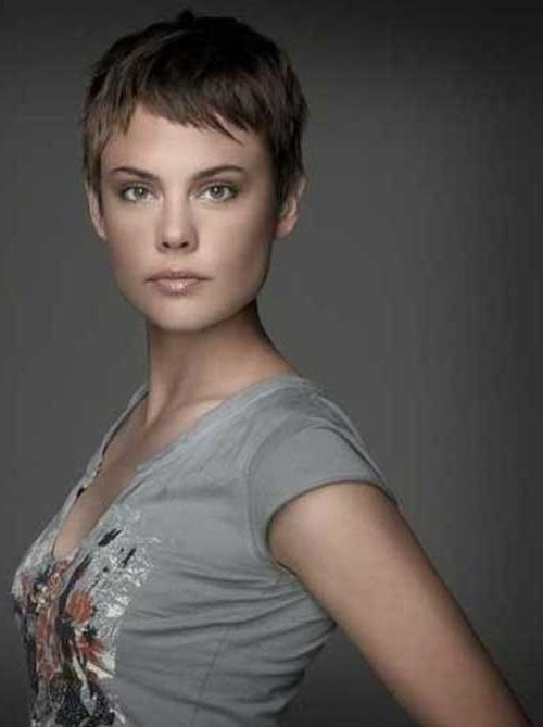 Trendy Super Short Pixie Haircuts Within 25 Super Short Pixie Cut (View 12 of 20)