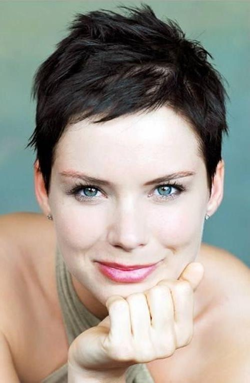 Trendy Super Short Pixie Haircuts Within Best 25+ Very Short Pixie Cuts Ideas On Pinterest (View 19 of 20)