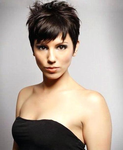 Trendy Unique Pixie Haircuts Intended For Unique Pixie Cuts For Thin Hair Pixie Haircuts For Oval Faces (View 14 of 20)