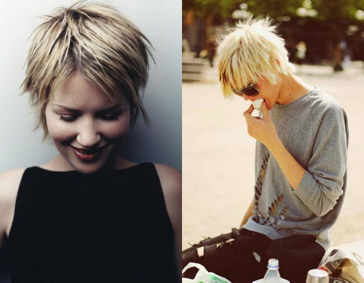 Trendy Very Short Shaggy Hairstyles In How To Leave Short Shaggy Hairstyles Without Being Noticed (View 2 of 15)