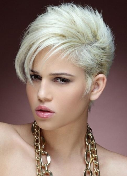 Ultra Short Hairstyles – Popular Haircuts Intended For Famous Ultra Short Pixie Haircuts (Gallery 9 of 20)
