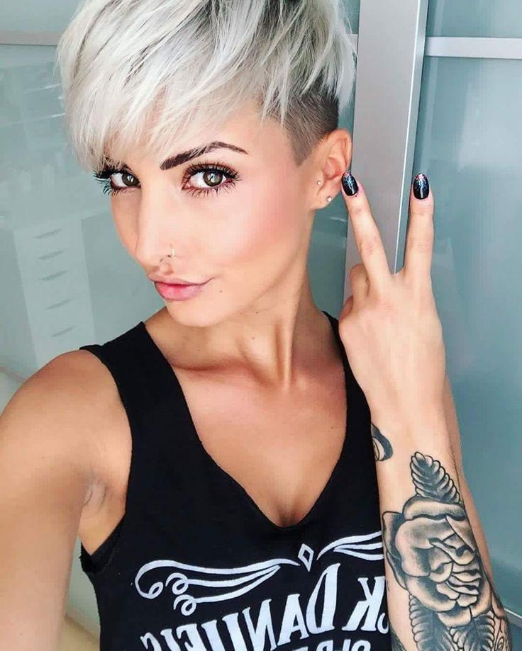 Undercut Short Hair For Current Short Edgy Pixie Haircuts (Gallery 3 of 20)
