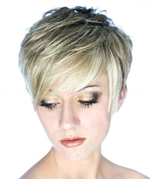 Unique Pixie Haircuts For Thin Hair Short Pixie Haircuts For Fine For Trendy Short Pixie Haircuts For Fine Hair (Gallery 18 of 20)