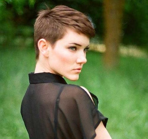 Very Short Pixie Cuts (View 18 of 20)