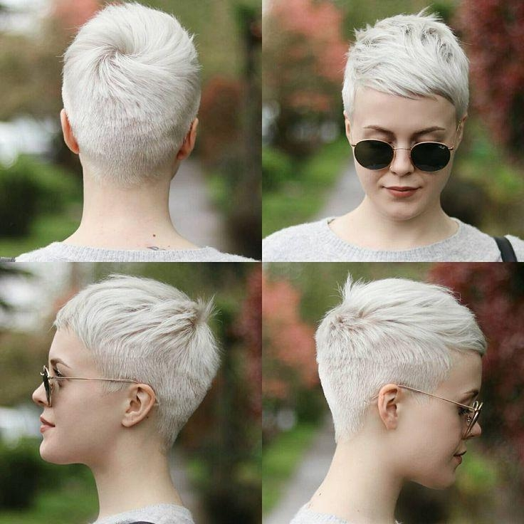 Very Short With Most Popular Very Short Pixie Haircuts For Women (View 16 of 20)