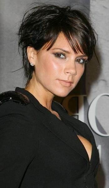 Victoria Beckham With Regard To Widely Used Posh Pixie Haircuts (View 7 of 20)