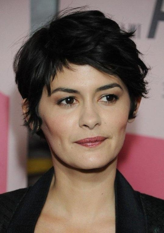 Wavy Pixie Cut: Casual Short Black Wavy Hairstyle For Women Throughout Best And Newest Wavy Pixie Haircuts (View 19 of 20)