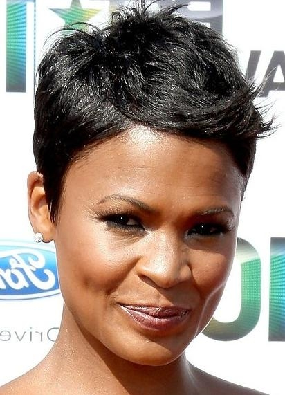Well Known African American Pixie Haircuts Inside Pixie Haircut African American Short Pixie Haircuts African (View 18 of 20)