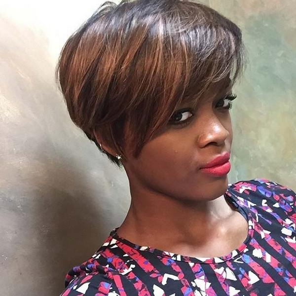 [%Well Known Black Pixie Haircuts Regarding 72 Short Hairstyles For Black Women With Images [2018|72 Short Hairstyles For Black Women With Images [2018 With Well Liked Black Pixie Haircuts%] (View 1 of 20)