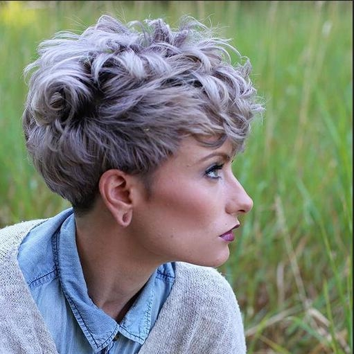 Well Known Choppy Pixie Haircuts Within Shaggy, Messy, Spiky, Choppy, Curls, Layered Pixie Hair Cuts (View 18 of 20)